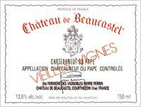 Châteauneuf-du-Pape Beaucastel Vieilles vignes Roussanne Jean-Pierre & François Perrin 2009