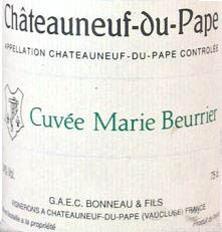 Châteauneuf-du-Pape  Marie Beurrier