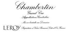 Chambertin Grand Cru Leroy (Domaine)