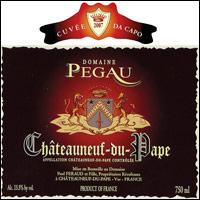Châteauneuf-du-Pape Pegaü Cuvée Da Capo Paul et Laurence Féraud 2000