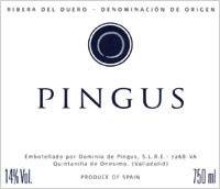 Ribera Del Duero Pingus Peter Sisseck 2004