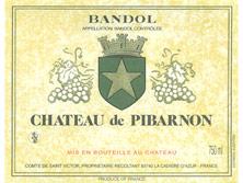 Etiquette Bandol Pibarnon-
