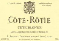Côte-Rôtie Côte Blonde René Rostaing 1999