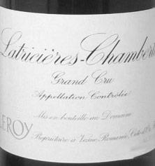 Latricières-Chambertin Grand Cru Leroy (Domaine) 1991