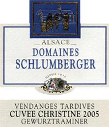 cote gewurztraminer vendanges tardives cuv e christine schlumberger 1994 alsace blanc liquoreux. Black Bedroom Furniture Sets. Home Design Ideas