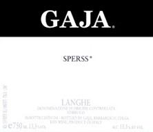 Barolo Angelo Gaja Sperss