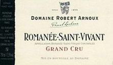 Etiquette Roman�e-Saint-Vivant Grand Cru
