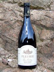 Etiquette Fleurie Vieilles vignes