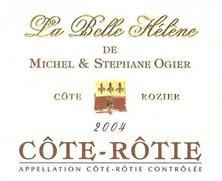 Côte-Rôtie La Belle Hélène Michel et Stéphane Ogier 1999