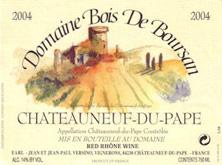 Châteauneuf-du-Pape Bois de Boursan (Domaine) Jean et Jean-Paul Versino