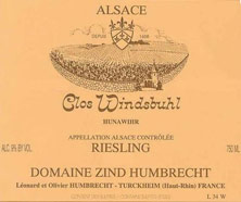 Riesling Clos Windsbuhl Zind-Humbrecht (Domaine)