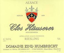 Riesling  Clos Hauserer