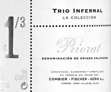 Priorat Trio infernal N° 1/3