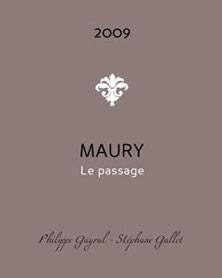 Etiquette Maury Le Passage