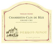 Chambertin Clos de Bèze Grand Cru Clos de Bèze Vieilles vignes Perrot-Minot