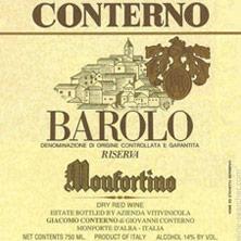 Barolo Riserva Monfortino Giacomo Conterno 2004