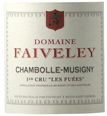 Etiquette Chambolle-Musigny 1er Cru
