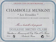 Etiquette Chambolle-Musigny