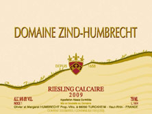 Riesling Calcaire Zind-Humbrecht (Domaine)