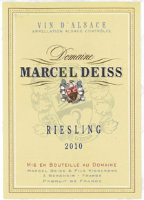 Riesling Marcel Deiss (Domaine)
