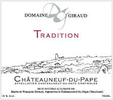 Châteauneuf-du-Pape Domaine Giraud Tradition
