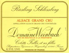 Riesling Vendanges Tardives Schlossberg Weinbach (Domaine)
