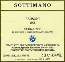 Barbaresco  Fausoni