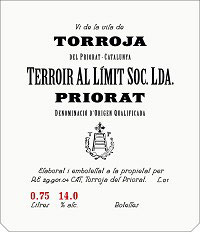 Priorat Terroir Al Limit Torroja
