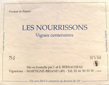 Vin de France  Les Nourrissons
