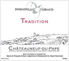 Châteauneuf-du-Pape Giraud (Domaine) Tradition