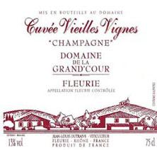 Etiquette Fleurie Champagne - Cuv�e Vieilles Vignes
