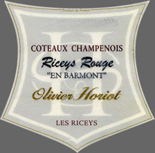 Olivier Horiot Riceys Rouge