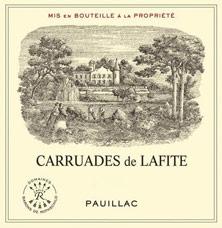 Etiquette Carruades de Lafite Rothschild