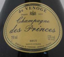 Champagne de venoge millesime 1989