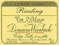 Riesling Cuvée Théo Weinbach (Domaine)