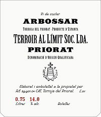 Priorat Terroir Al Limit Arbossar