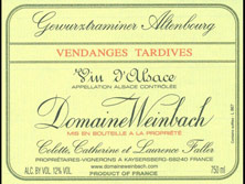Gewurztraminer   Furstentum Vendanges Tardives