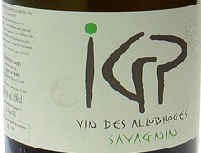 IGP Allobroges  Savagnin
