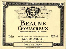 Beaune 1er Cru Chouacheux