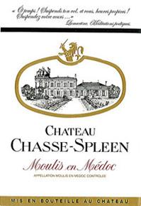 Etiquette Chasse Spleen