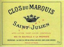 Etiquette Clos du Marquis