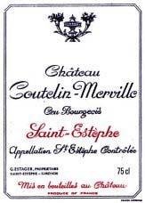 Etiquette Coutelin-Merville