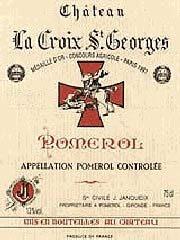 Etiquette Croix Saint-Georges