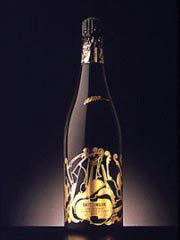 Champagne Taittinger 1981 - Collection Arman