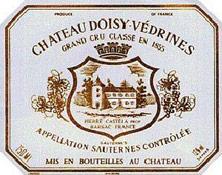 Etiquette Doisy V�drines