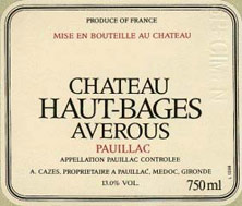 Haut Bages Averous