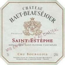 Chateau Haut-Beausejour Saint-Estephe