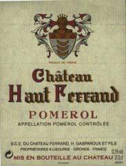 Domaine Château Ferrand (Pomerol) - Bordeaux