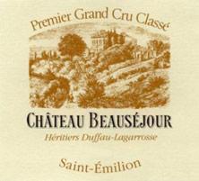 Château Beauséjour (Duffau-Lagarrosse) 1990