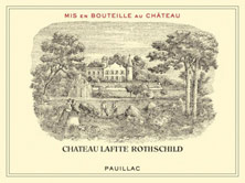 Château Lafite Rothschild price by vintage